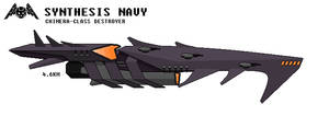 Synthesis Navy Chimera-class Destroyer