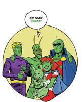 Team Green by dennisculver
