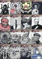Marvel Sketchcards 1 by dennisculver
