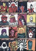 Marvel Sketchcards 2 by dennisculver