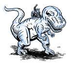 Devil Dinosaur and Moonboy