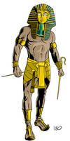King Tut by dennisculver