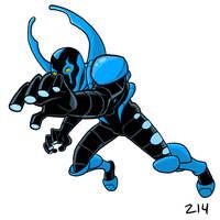 Blue Beetle by dennisculver
