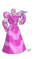 Iron Man Disney Princess Armor by dennisculver