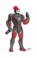 Iron man Juggalo Armor by dennisculver