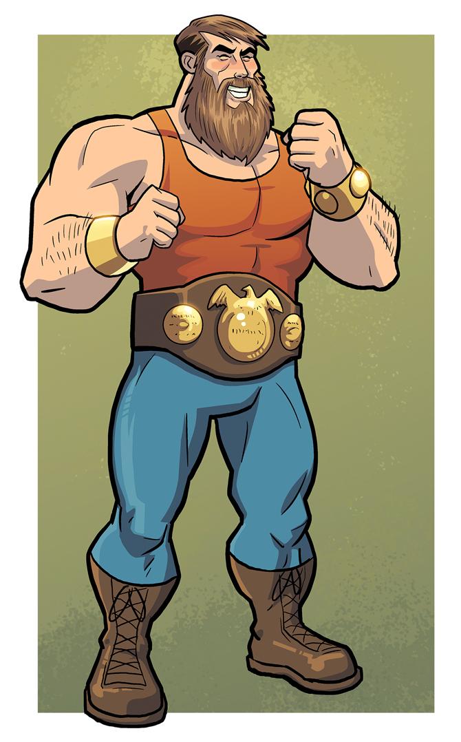 Gladiator Gladstone by dennisculver