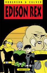 Edison Rex 14 Cover by dennisculver