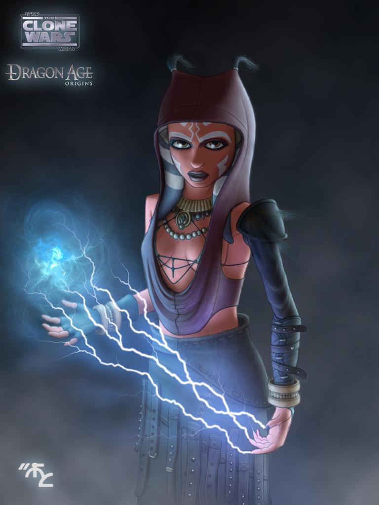 Ahsoka cosplay Morrigan by Master-Cyrus