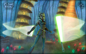 Ahsoka and the Felucian Force by Master-Cyrus