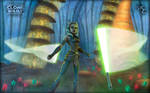 Ahsoka and the Felucian Force