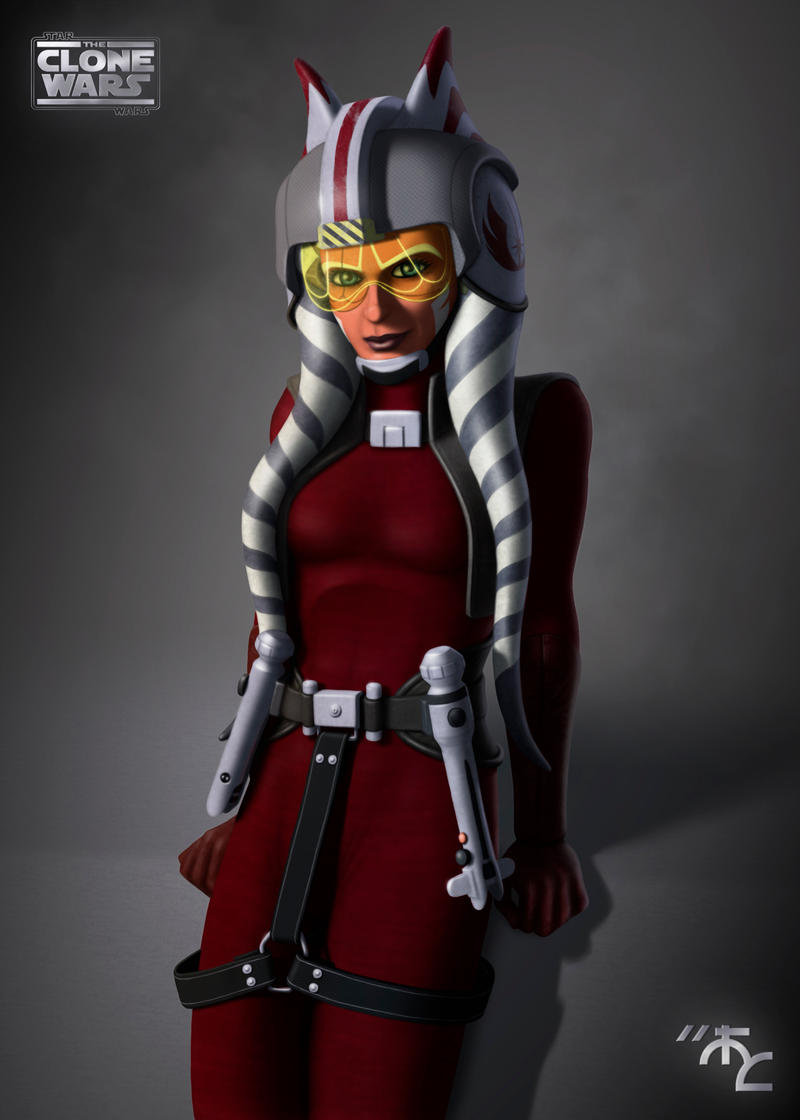 Rebel Commander Ahsoka Tano by Master-Cyrus