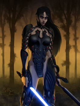 Neera - The Girl with the Vong Armor