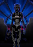 Twilek Droid Girl by Master-Cyrus