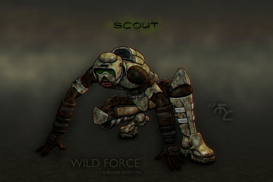 Scouts - Wild Force Unknown Quantities by Master-Cyrus