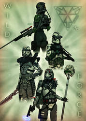 Wild Force - Wild Clones by Master-Cyrus