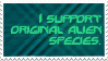 Original Alien Species by Arachnida-Stamps
