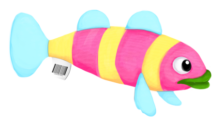 fishie plushie by inkusu