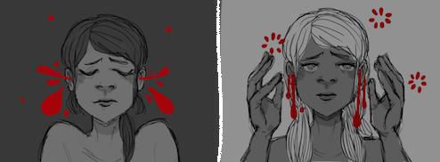 bloodshot by inkusu