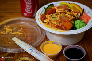 Spicy Tuna Donburi for Day 78 by AeroStrike