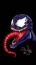 Venom smartphone drawing