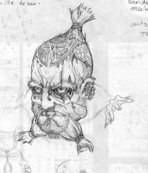 Tattoed Dwarf from Gemini