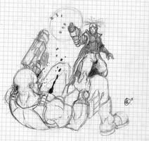 Zappan, one shooting a junk