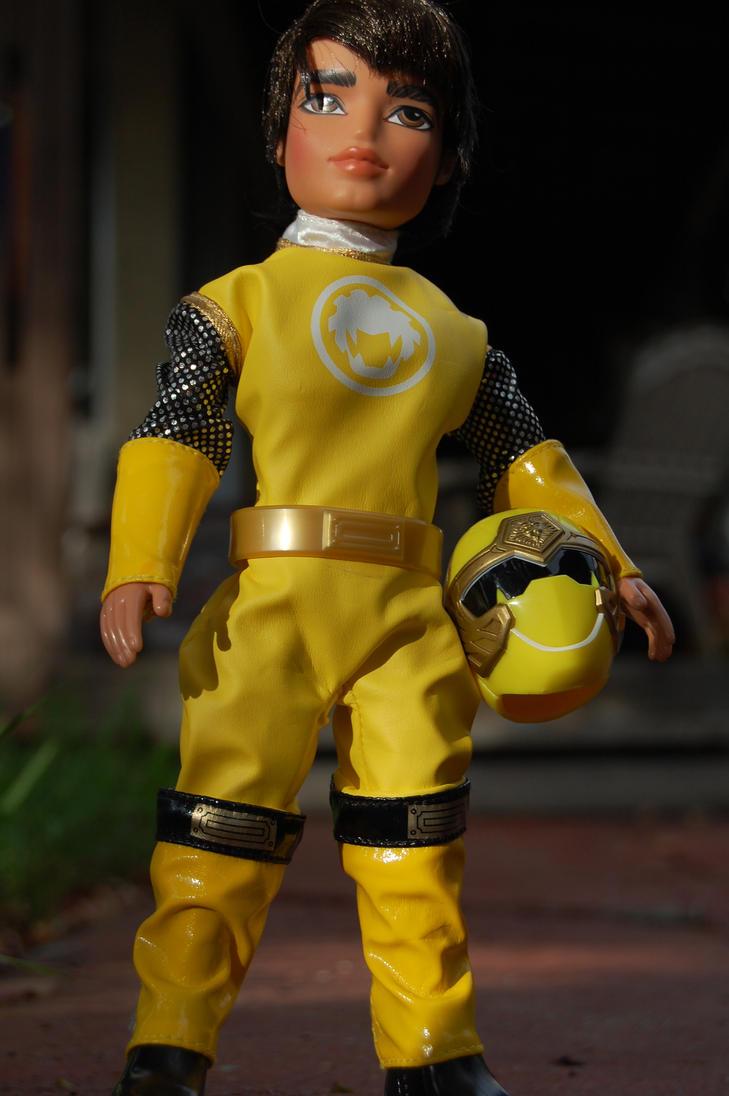 Bratz Boyz Yellow Ranger by Rogue-Ranger