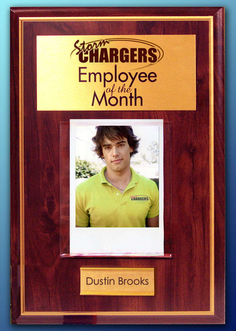 employee of the month dustin by rogue ranger