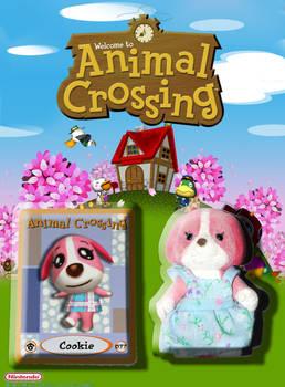 Animal Crossing Cookie Figure