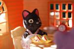 Kiki Serves Sandwiches