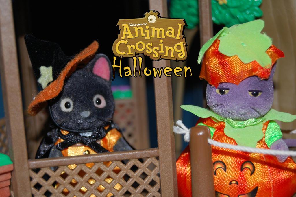 Animal Crossing Halloween by Rogue-Ranger on DeviantArt