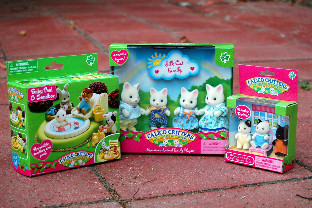calico critters cat toys by rogue ranger on deviantart