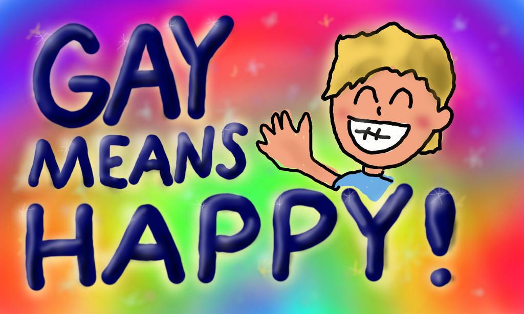 Gay As In Happy 55