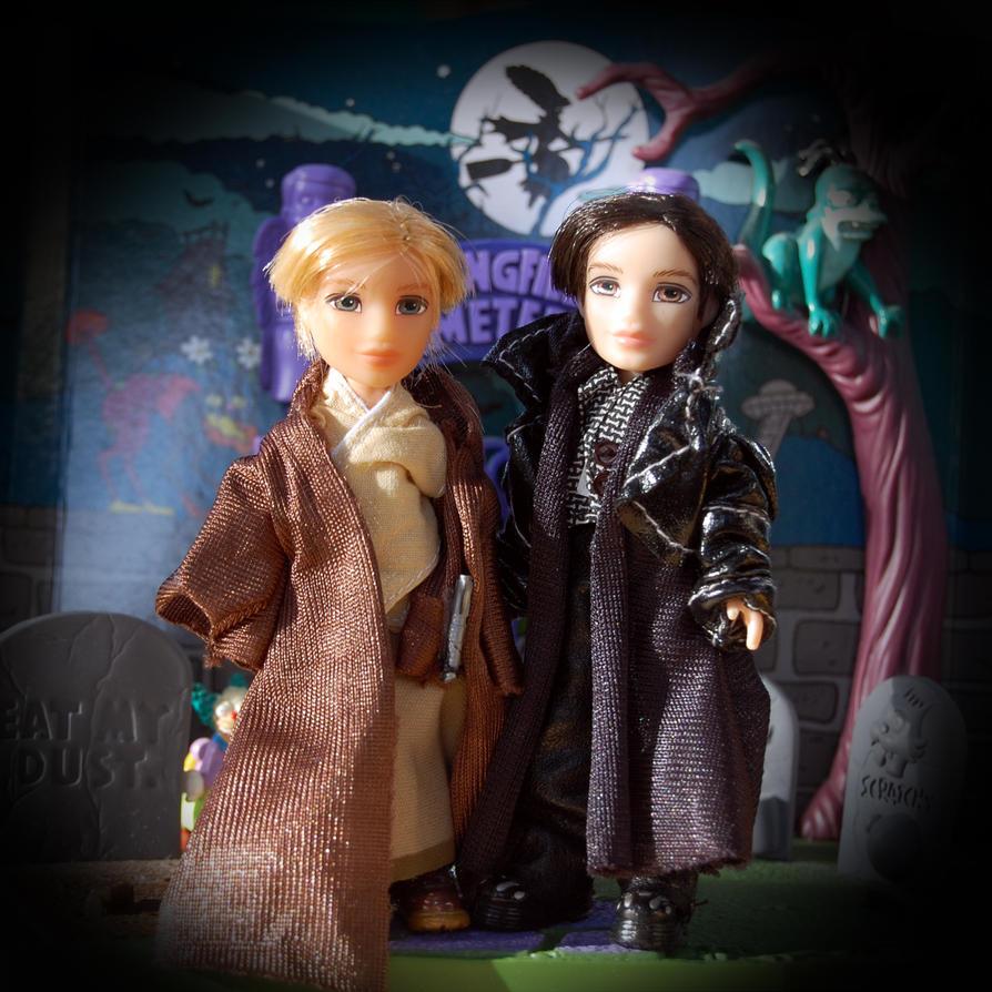 Li'l Bratz Dolls Halloween Couple by Rogue-Ranger on ...