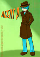 PnF: Agent P .:human:. by xelliMetallium