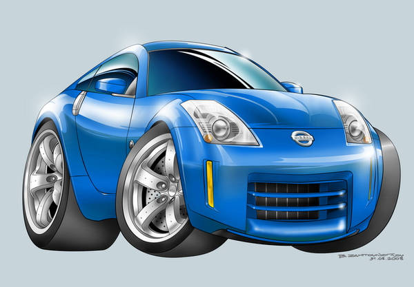 Nissan 350Z Toon by nailgungfx