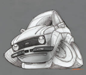 Ford Escort mkII Toon