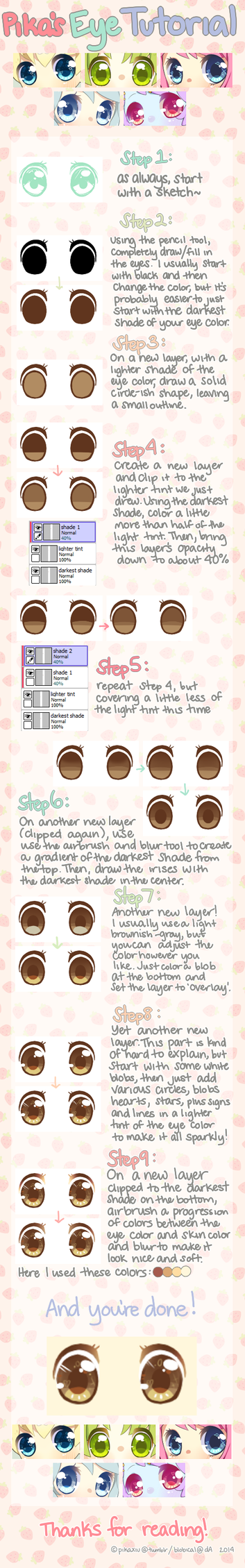Eye Tutorial by pikaxiu