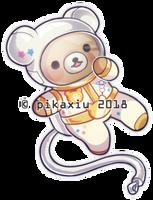 Space Rilakkuma by pikaxiu