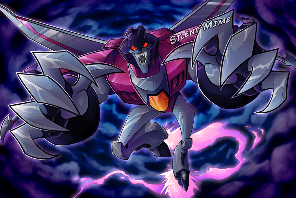 Starscream by Silent-Mime