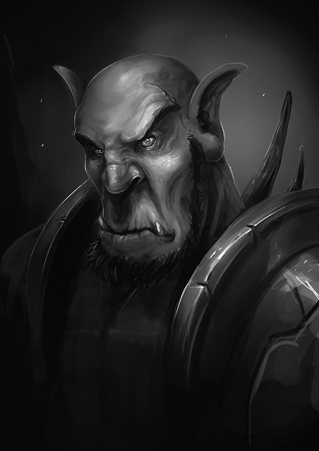 Orc (wip) by jarpen