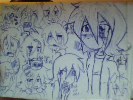 Class Doodles#7 by ShiroShototsu