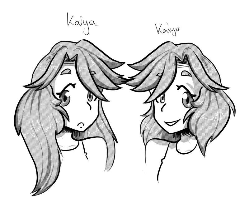 Kaiya And Kiayo by ShiroShototsu