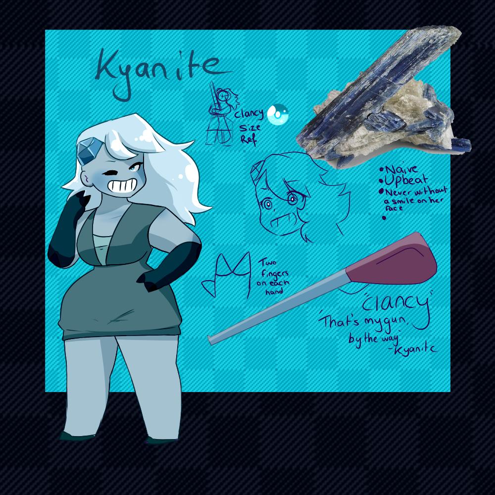 Kyanite Doodle Ref by ShiroShototsu