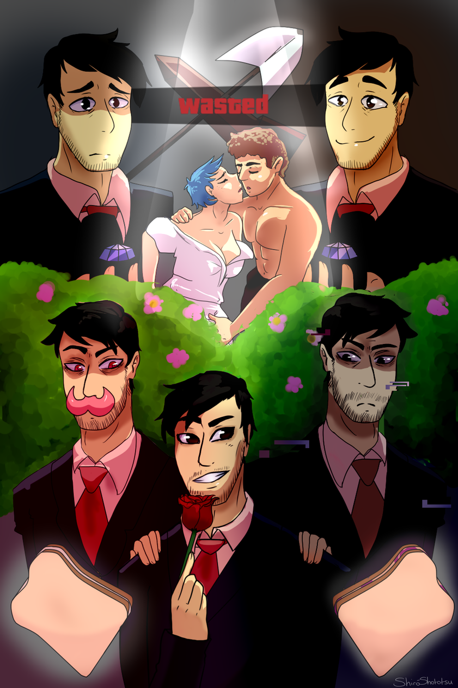 A Date With Markiplier by ShiroShototsu