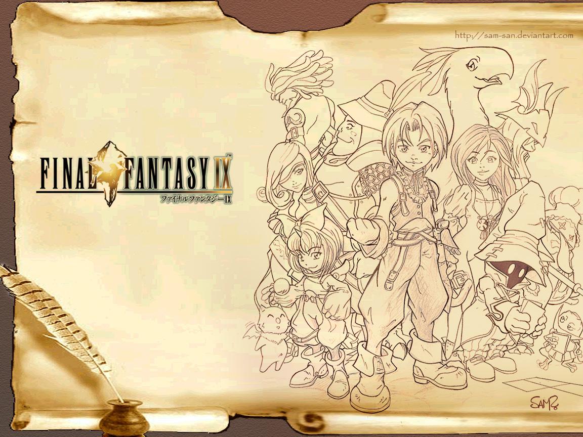 Cual Es Tu Videojuego Favorito¿? Final_Fantasy_IX_Wallpaper_by_Sam_san