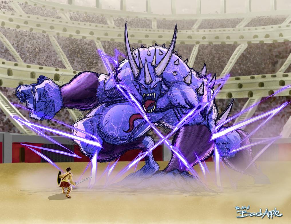 Battle of the Warriors by badappledesignz