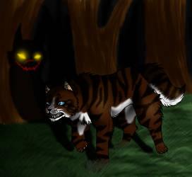 Hawkfrost's Shadow by Hawktalon-2