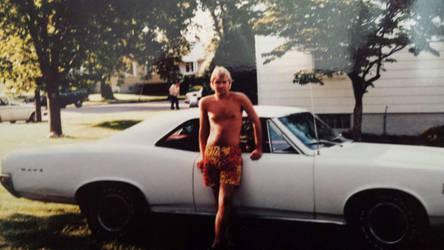 1966 Pontiac LeMans...my first car by mJack