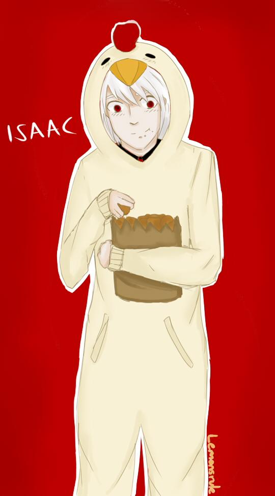 Isaacs Halloween costume by lemonsrule